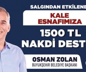 1500 TL NAKDİ DESTEK
